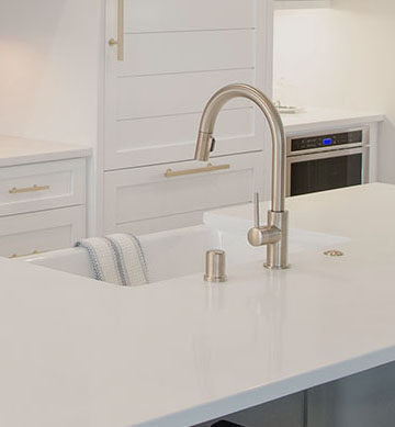 Kitchen Remodelin Countertop Sink and fixtures Installation