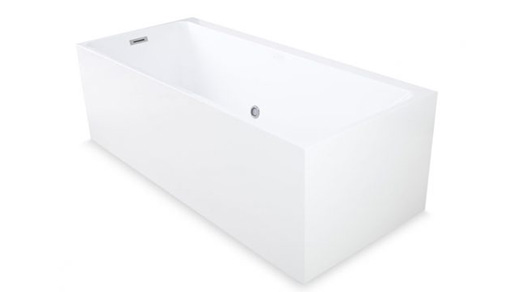 Free Standing Tub Bali Acrylic Infusion Microbubble Therapy