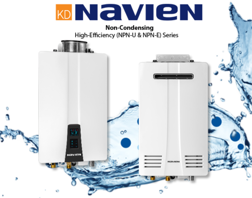 Gas Tankless Water Heaters Navien Broward, Miami-Dade Palm Beach County