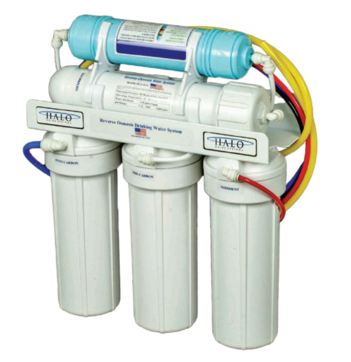 Reverse Osmosis System HALO 6 Under sink water filter