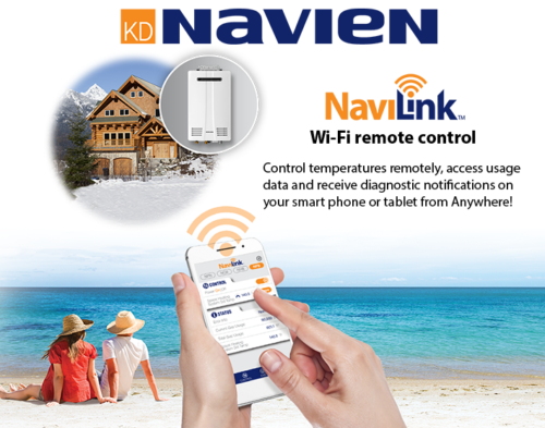Tankless Water Heater Wi-Fi Control Broward, Miami-Dade Palm Beach County