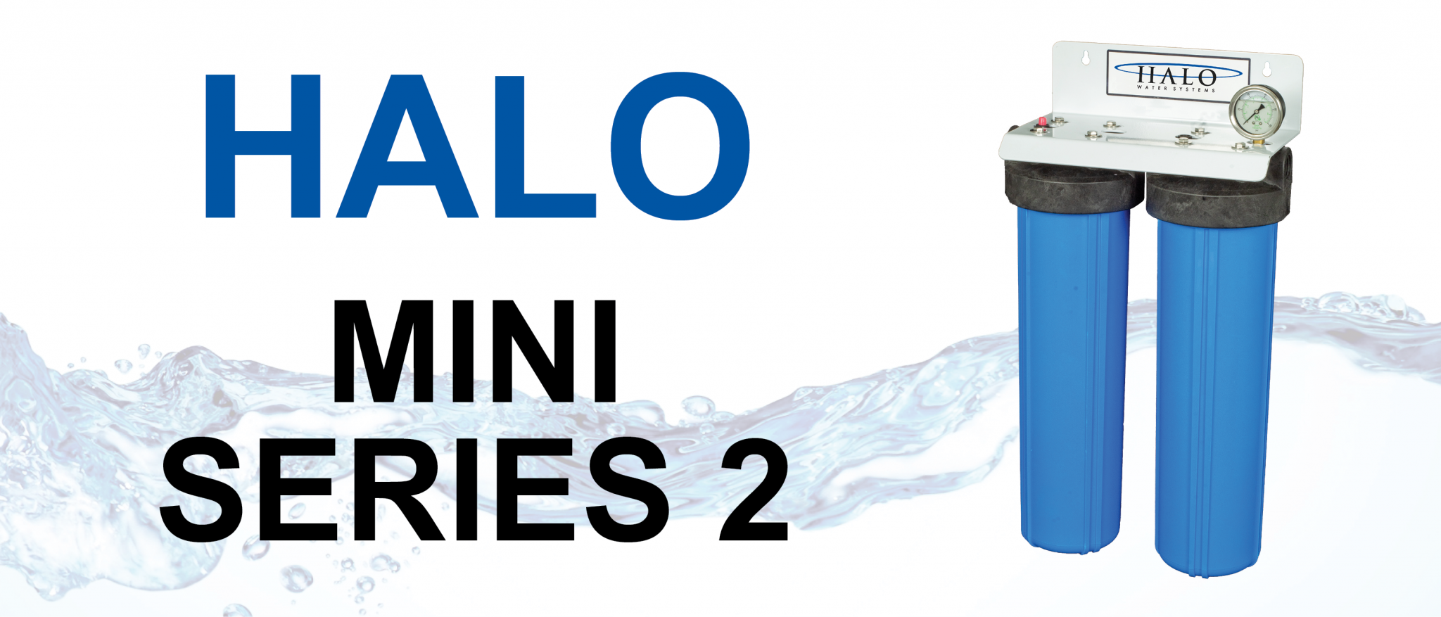 2 STAGE WHOLE HOUSE WATER FILTRATION