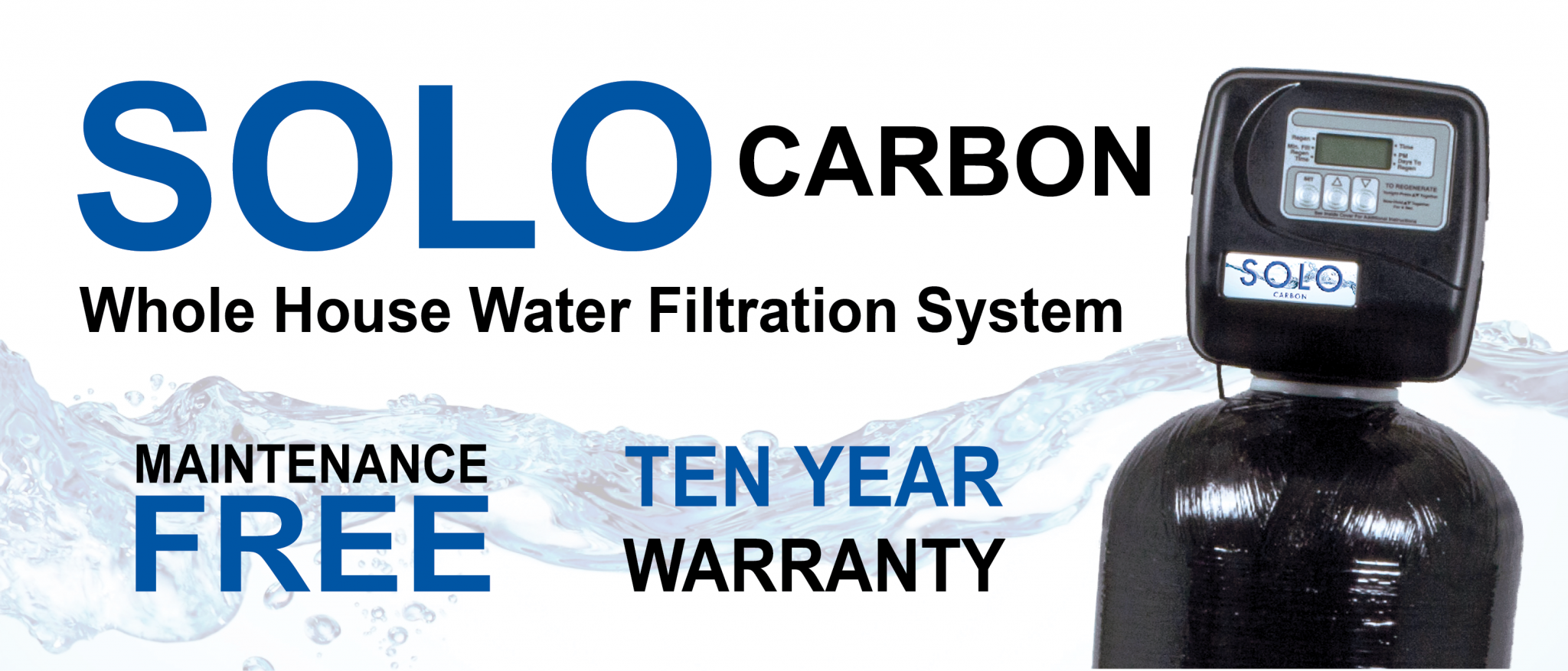 MAINTENANCE FREE WHOLE HOUSE WATER FILTRATION